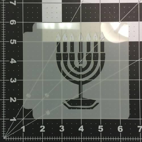 Hanukkah Stencil 100