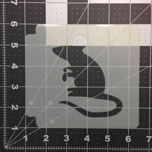 Mouse Stencil 100