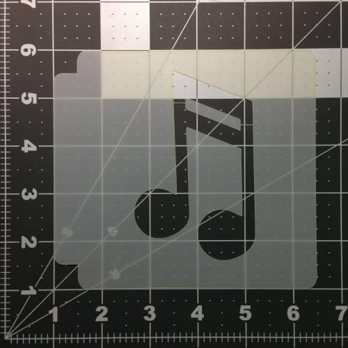 Music Note Stencil 102