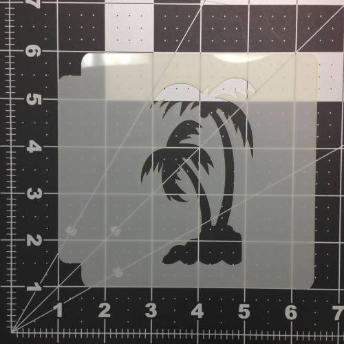 Palm Tree Stencil 101
