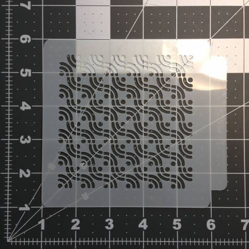 Pattern Stencil 110