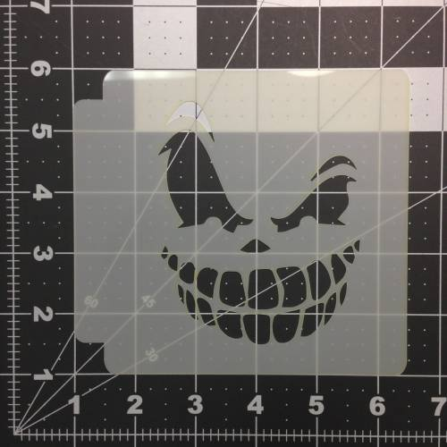 Scary Face Stencil 100