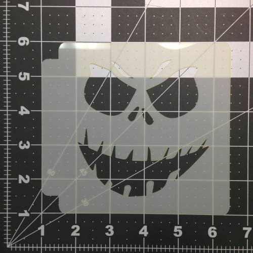 Scary Face Stencil 101