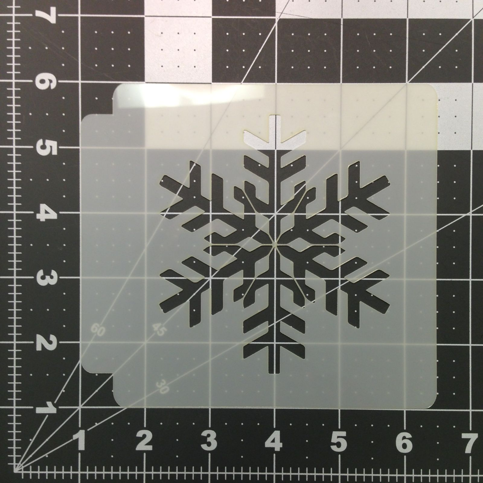 Snowflake Stencil 100