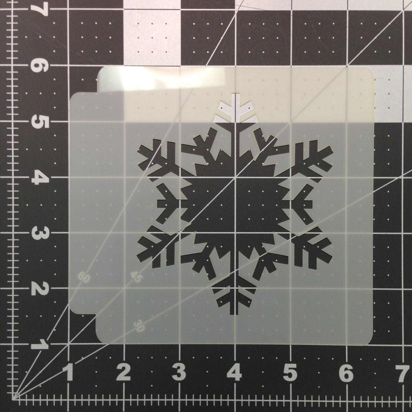 Snowflake Stencil 102