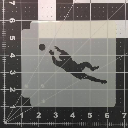 Soccer Stencil 102