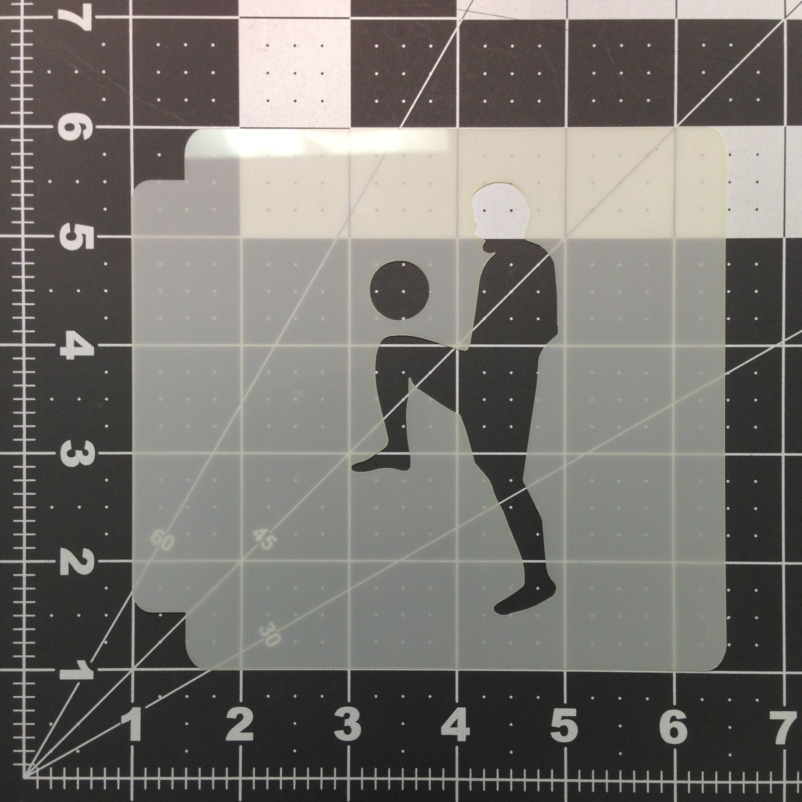 Soccer Stencil 103