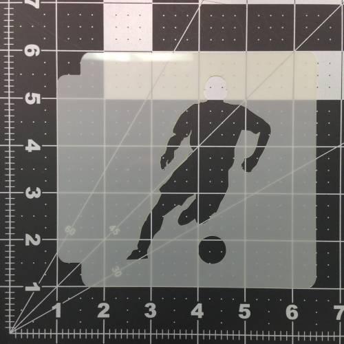 Soccer Stencil 105