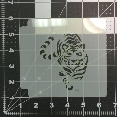 Tiger Stencil 100