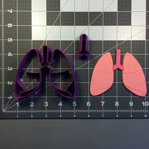 Lungs 101 Cookie Cutter Set