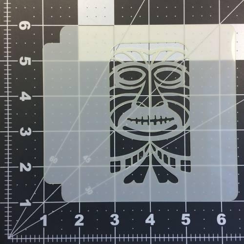 Tiki Stencil 106
