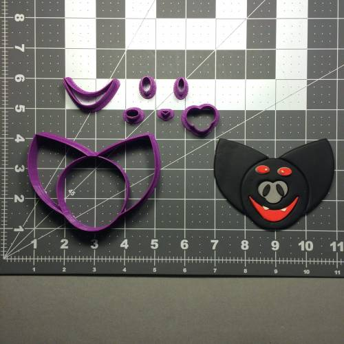 Bat 105 Cookie Cutter Set