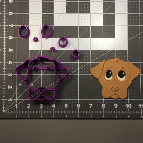 Dog Face 101 Cookie Cutter Set