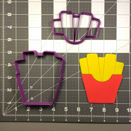 French Fries 101 Cookie Cutter Set