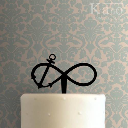 Anchor Infinity Cake Topper 100