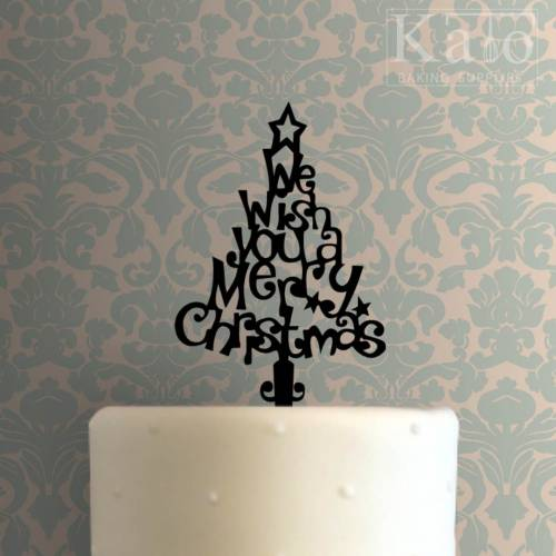 Christmas Tree Cake Topper 100