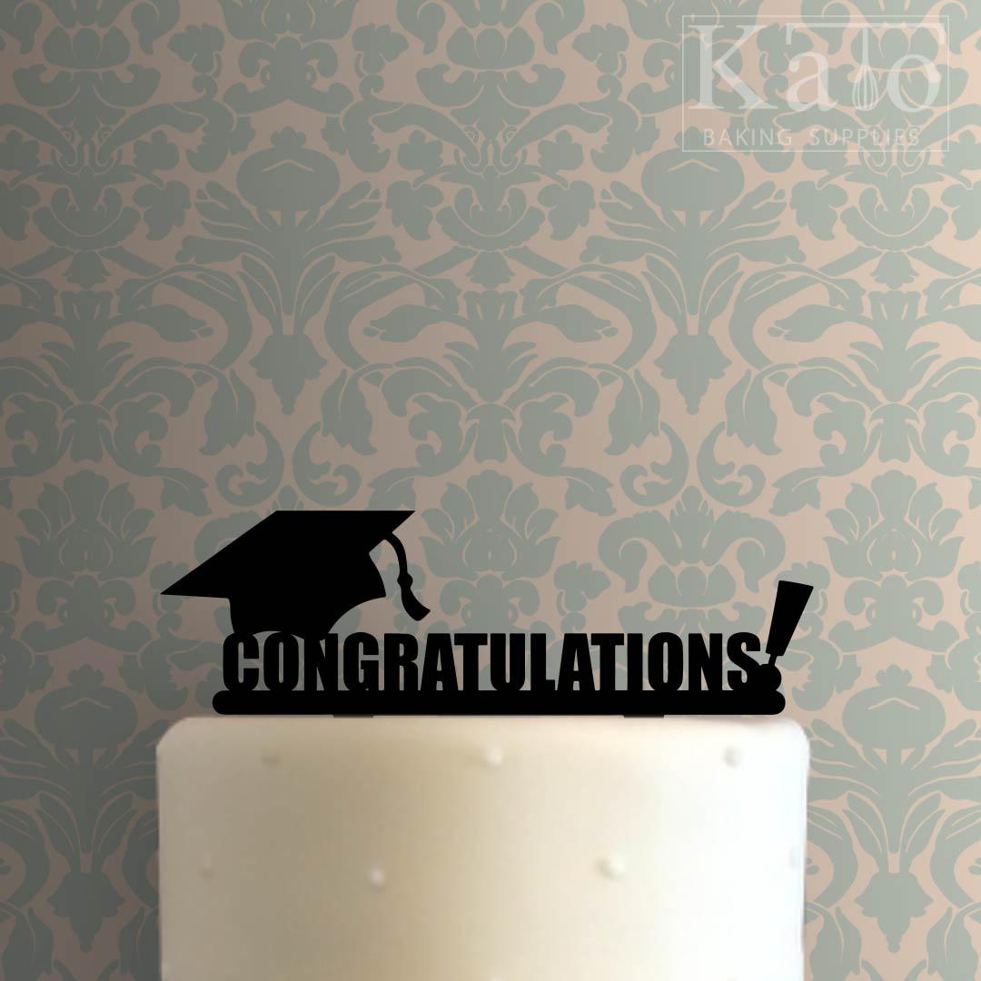 Congratulations 101 Cake Topper