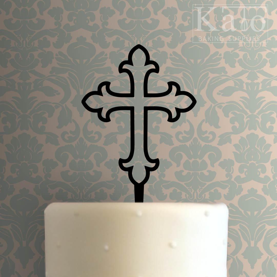 Cross 103 Cake Topper