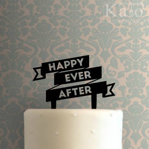 Happy Ever After Cake Topper 100
