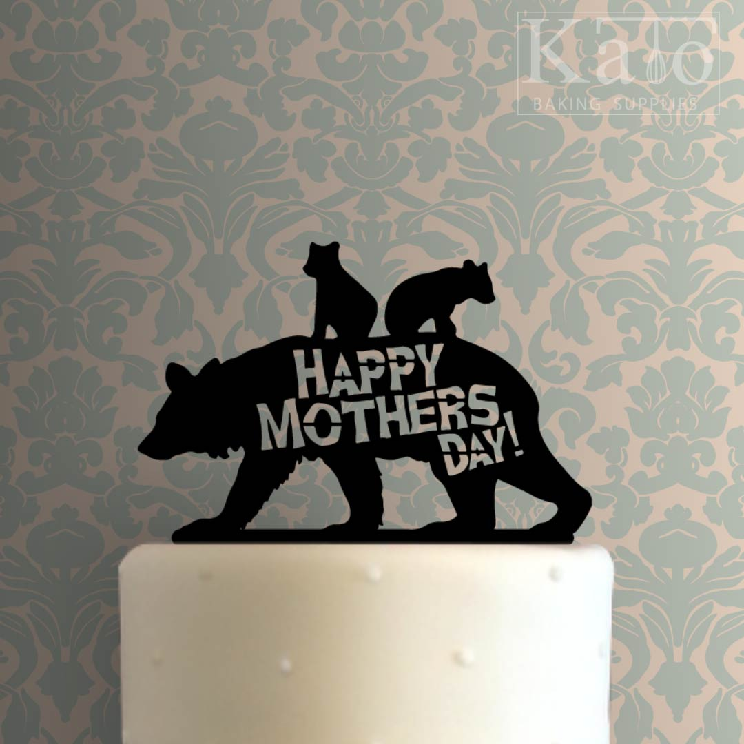 Happy Mothers Day 100 Cake Topper