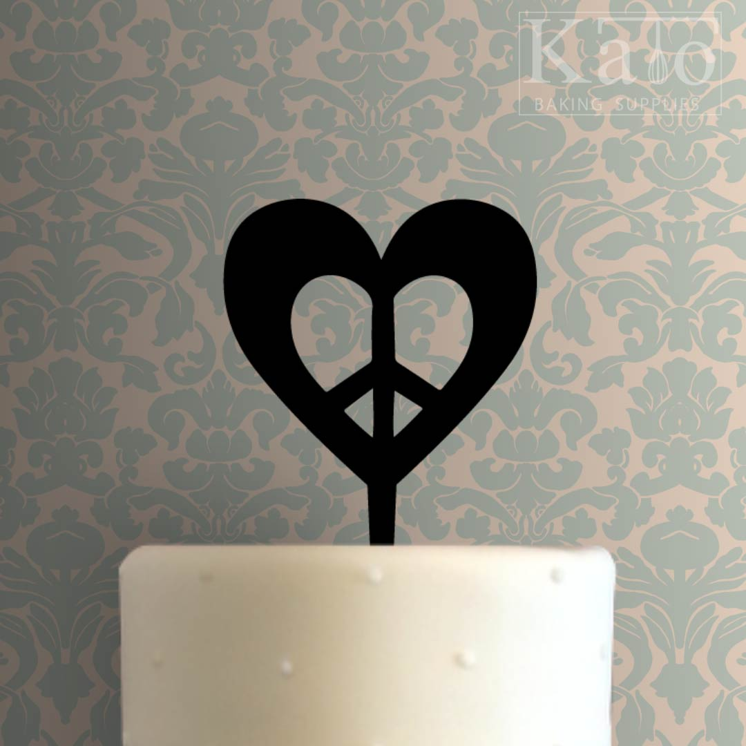 Love Heart Cake Images : Love Heart Cake Topper 101