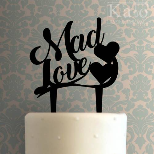 Mad Love Cake Topper 100