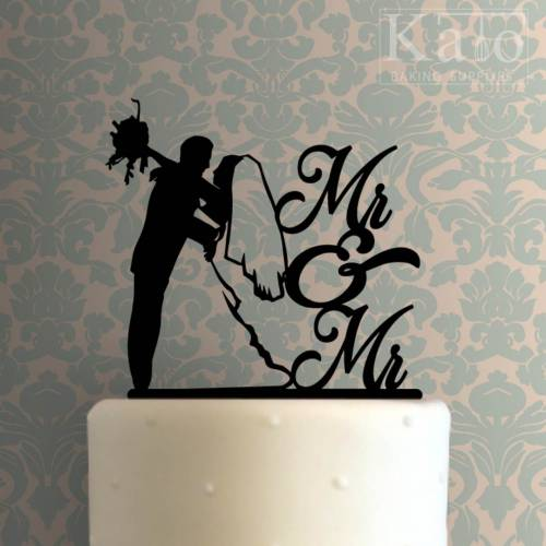 Mr. and Mrs. Cake Topper 103