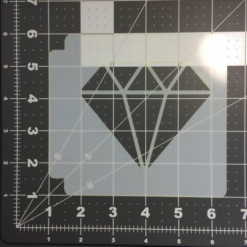 Diamond Stencil 100