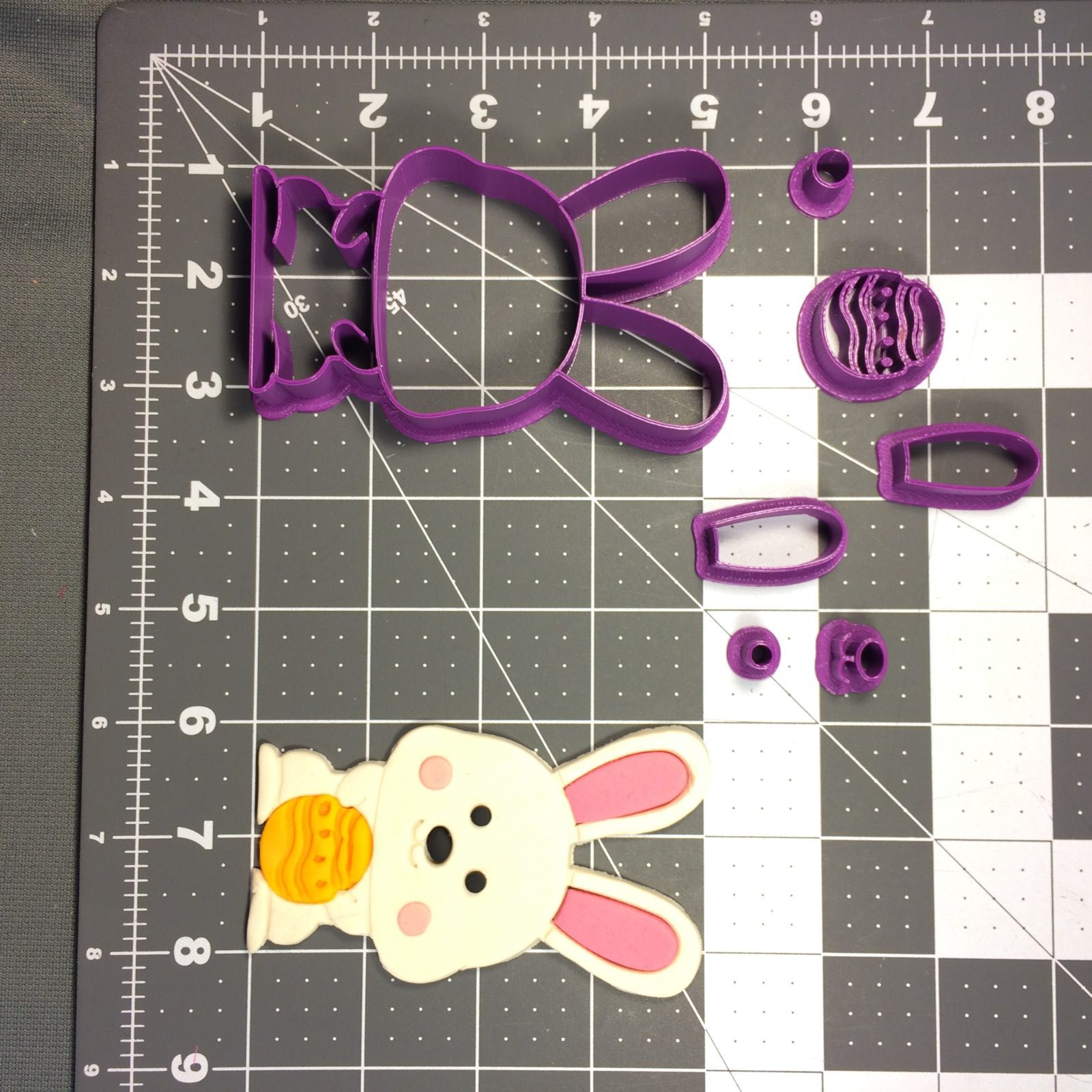 Easter Bunny 100 Cookie Cutter Set