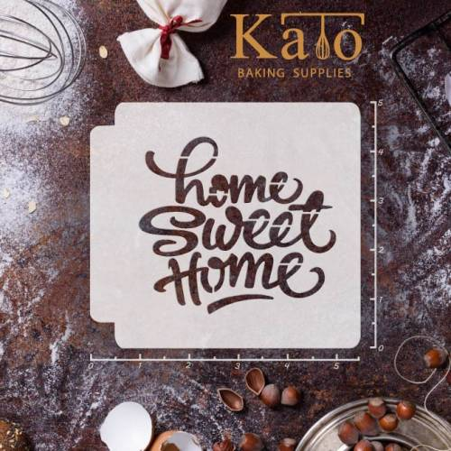 Home Sweet Home 783-069 Stencil (4 inch)