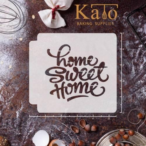 Home Sweet Home 783-069 Stencil (4 inch)