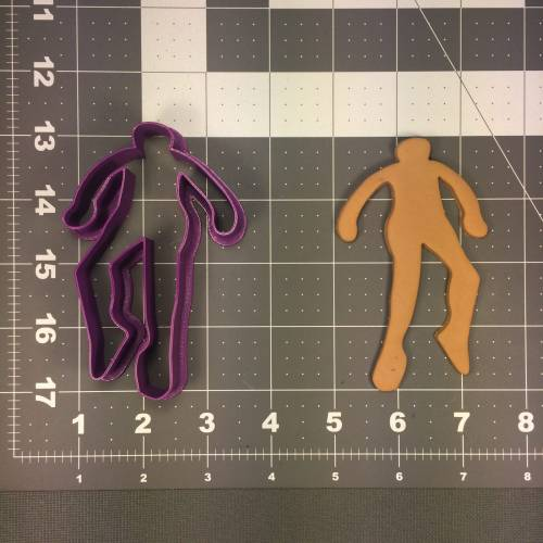 Chalk Outline 101 Cookie Cutter