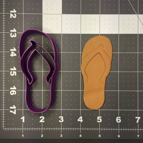 Flip Flop 104 Cookie Cutter