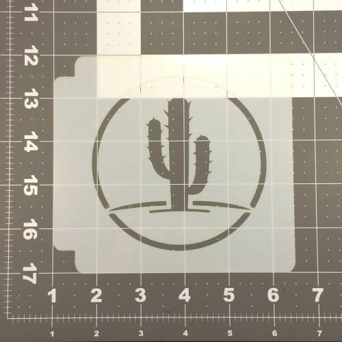 Cactus Stencil 100