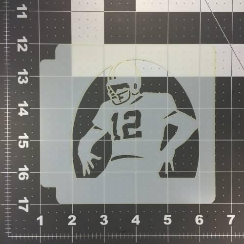 Football Stencil 106