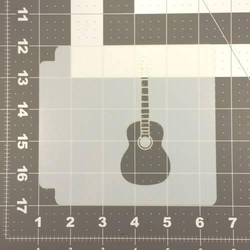 Guitar Stencil 100