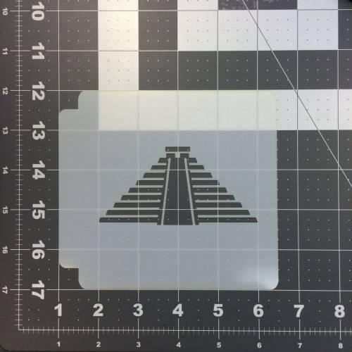 Pyramid Stencil 100