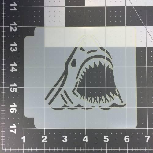 Shark 101 Stencil