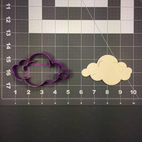Cloud 103 Cookie Cutter