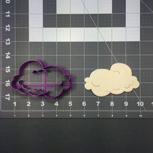 Cloud 107 Cookie Cutter