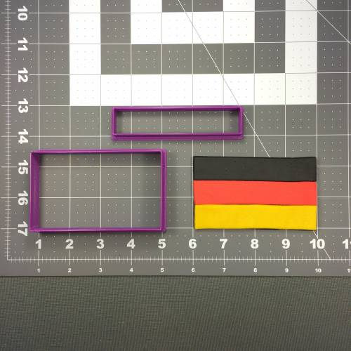 German Flag 100 Cookie Cutter Set