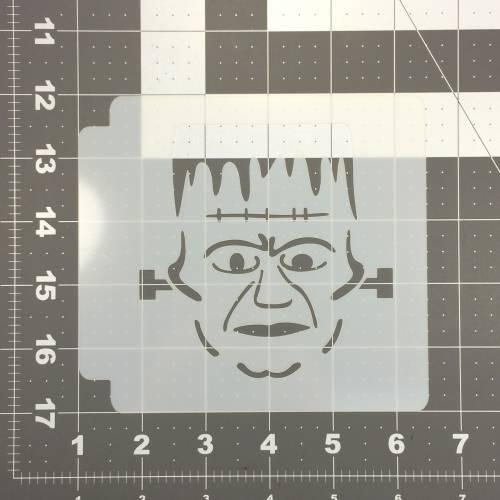 Halloween Frankenstein Stencil 101