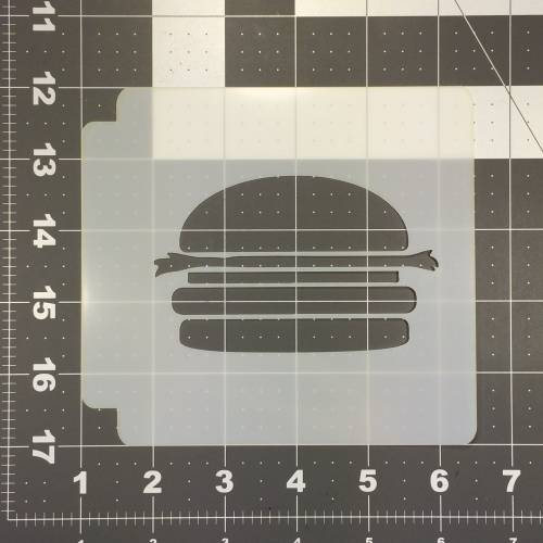 Hamburger Stencil 100