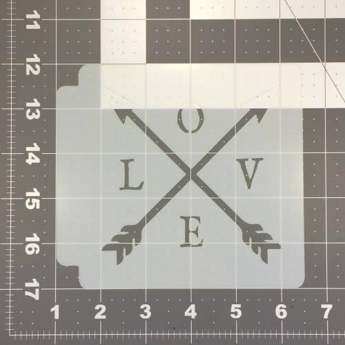 Love Stencil 104