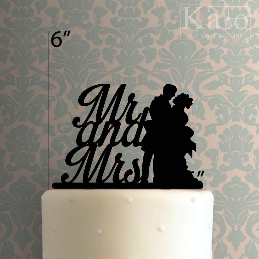 Mr And Mrs 108 Cake Topper