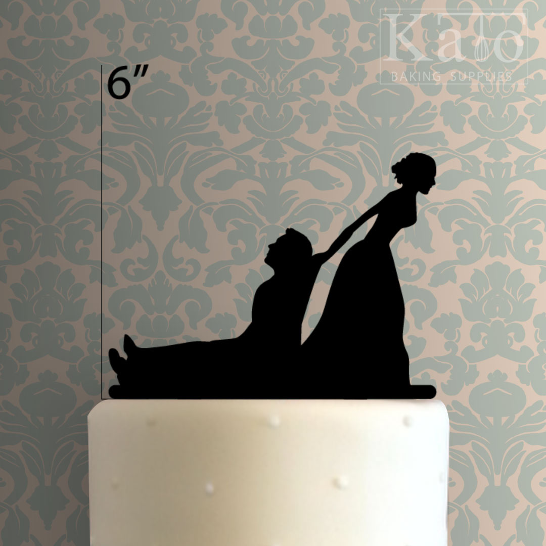 Wedding Couple 100 Cake Topper