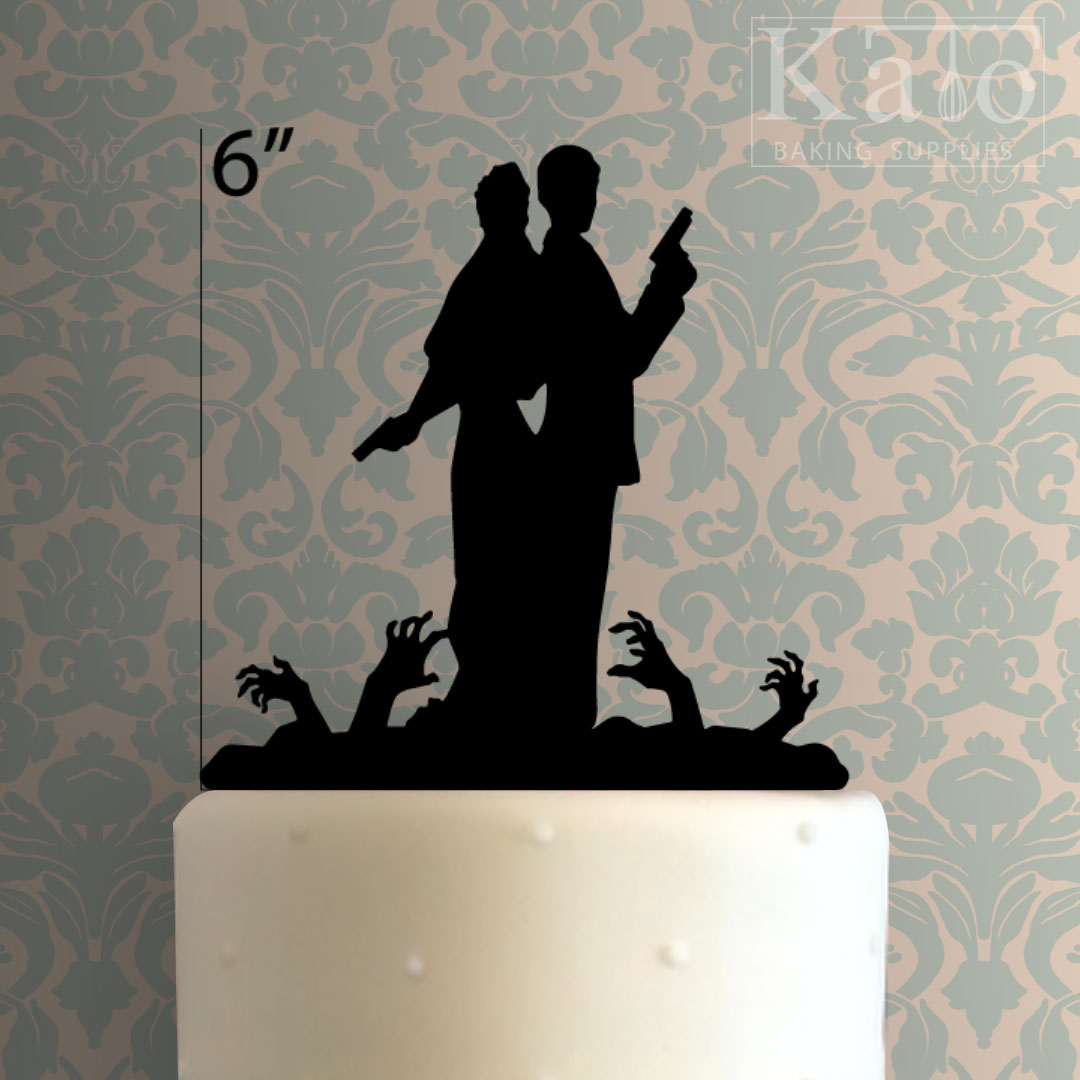 Wedding Couple 101 Cake Topper