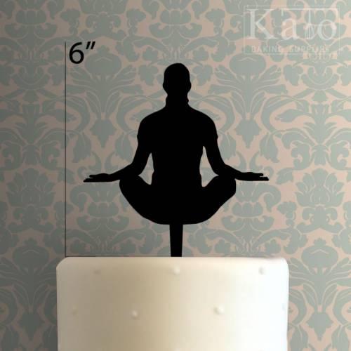 Yoga Cake Topper 100