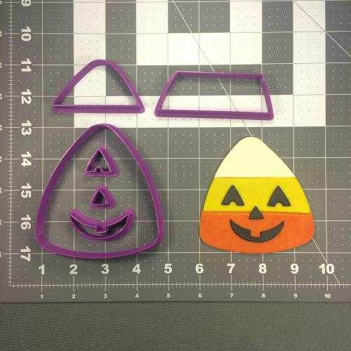 Candy Corn 102 Cookie Cutter Set