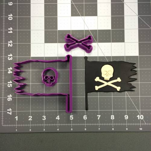 Pirate Flag 100 Cookie Cutter Set
